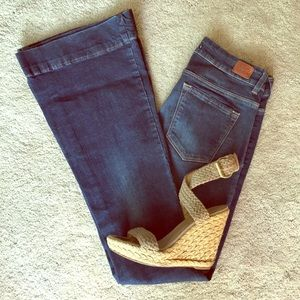 Zara Fit and Flare Jeans